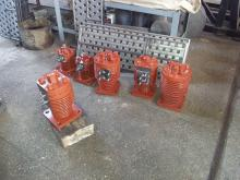 Cylinders of piston compressors