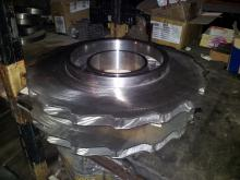Wheels for rotor for a gas compressor unit
