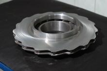 Wheel for rotor for a gas compressor unit